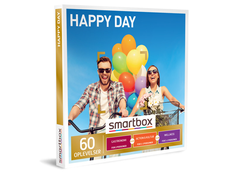 Smartbox Happy Day indløsning