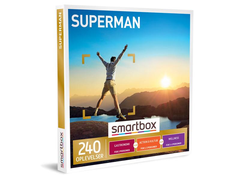 Smartbox Superman indløsning